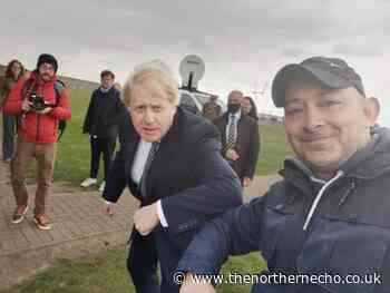 Boris Johnson in Hartlepool AGAIN with just days to go until by-election - The Northern Echo