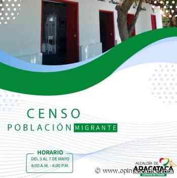 Inicia censo de población migrante en Aracataca - Opinion Caribe