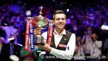 Triumph in Sheffield: Selby zum vierten Mal Snooker-Weltmeister