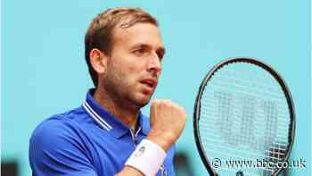 Madrid Open: Dan Evans beats Jeremy Chardy to reach second round - BBC Sport