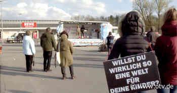 Sulzbach-Rosenberg: Querdenker-Versammlung und Gegendemonstration - Oberpfalz TV