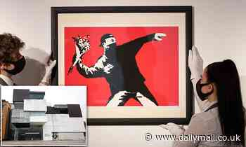 Buyer who bought a Banksy artwork for $300 in a museum gift shop discovers it's an original work