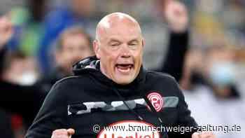 """2. Liga: Fortuna-Coach beschwört nach emotionalem Sieg das """"Momentum"""""""