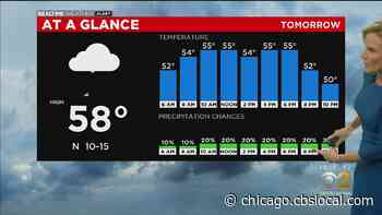 Chicago Weather: Cooler Than Average Tuesday And Beyond - CBS Chicago
