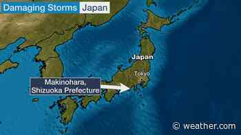 Possible Tornado Rips Through Japanese City; Nearly 100 Buildings Damaged | The Weather Channel - Articles from The Weather Channel | weather.com - The Weather Channel