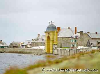 Rising sea levels threatening 300-year-old French fortress in Nova Scotia - The Weather Network