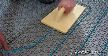 Elektrische Gutjahr-Fußbodenheizung ab sofort auch im Set