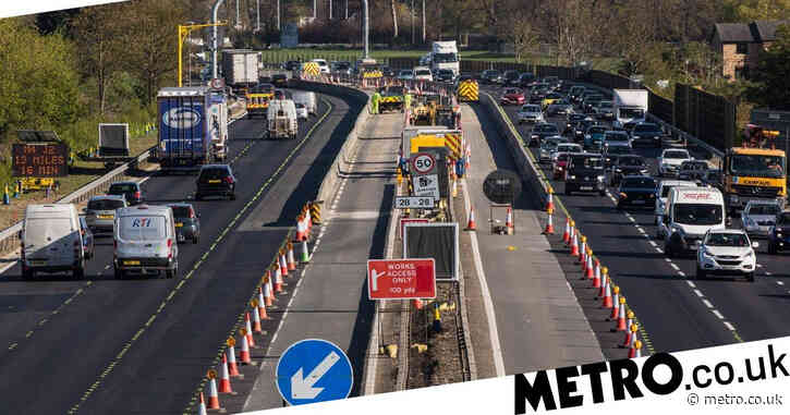 Smart motorways up to a third deadlier than roads with hard shoulders