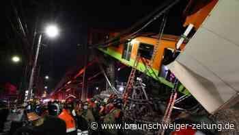 Mexiko-Stadt: Mindestens 23 Tote bei Einsturz von U-Bahnbrücke