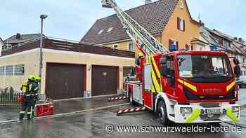 Rauch in Oberndorf - Feuerwehr gibt Entwarnung - Schwarzwälder Bote