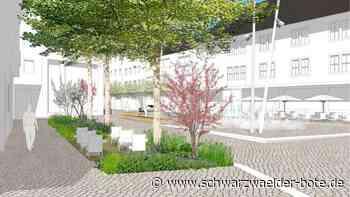 Talplatzgestaltung - Grüne Terrasse wird in Oberndorf bevorzugt - Schwarzwälder Bote