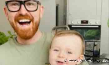 Little devil! Hilarious moment baby says 'mama' in a deep 'almost demonic' growl
