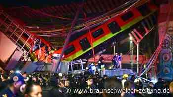 Mexiko-Stadt: Viele Tote bei Einsturz von U-Bahn-Brücke