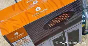 Shoppers go wild for Morrisons' garden heaters - perfect for outdoor gatherings