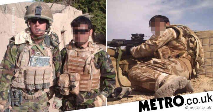 Afghan interpreter says he is being 'left behind to die' as UK troops withdraw