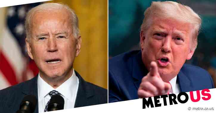 Donald Trump slams 'radical and extreme president' Joe Biden for supporting abortion