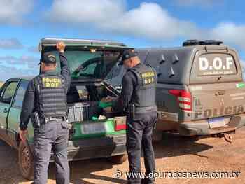 Veículo levaria maconha para Ivinhema foi apreendido na MS-379 - Dourados News