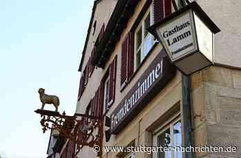 Gasthaus Lamm in Waldenbuch - Das Traditionsgasthaus steht zum Verkauf - Stuttgarter Nachrichten