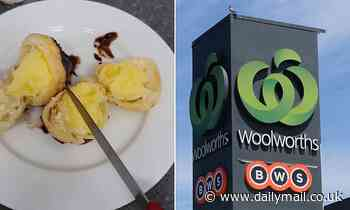 Horrified Brisbane Woolworths shopper makes a surprising discovery in a pack of 'fresh' profiteroles