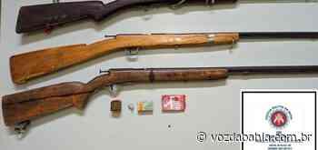 Dois homens morrem e polícia apreende oito armas na Chapada Diamantina - Voz da Bahia
