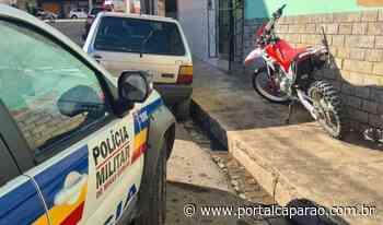 Moto furtada em Ibatiba é abandonada em Manhuaçu - Portal Caparaó