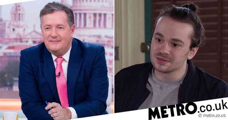 Piers Morgan hits back at Coronation Street's Seb Franklin: 'Impertinent little twerp'