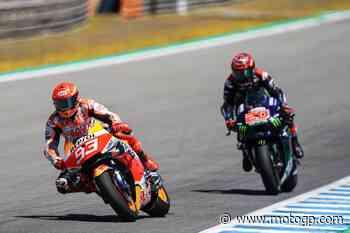 Quartararo assente, Marquez fa sette giri a Jerez. Perché?