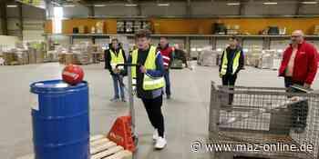 Teltow-Fläming: Tag der Logistik für Schüler und Schülerinnen - Märkische Allgemeine Zeitung
