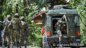 Terrorist accused of killing 2 councillors, policeman trapped in Jammu and Kashmir`s Sopore