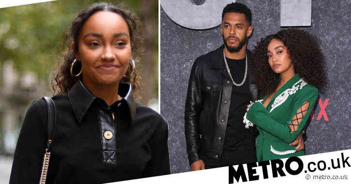 Little Mix star Leigh-Anne Pinnock announces she's expecting first child with fiance Andre Gray with stunning baby bump shoot