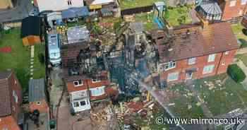Hero neighbours run into burning home and rescue elderly couple after explosion