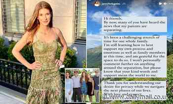 Bill and Melinda Gates' daughter speaks of a 'challenging' time in a post about her parents' divorce