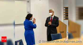 Jaishankar meets UK minister Priti Patel to sign Migration and Mobility partnership