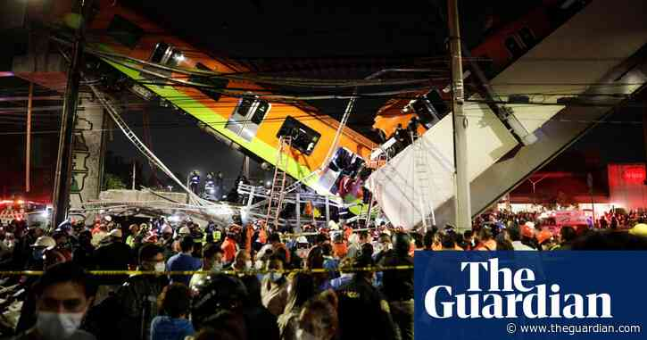 At least 23 dead as Mexico City metro overpass collapses