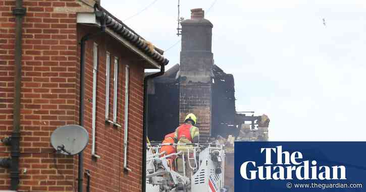 Seven people injured after explosion rips through houses in Kent