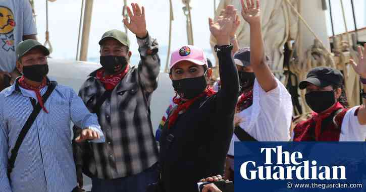 Zapatistas set sail for Spain on mission of solidarity and rebellion