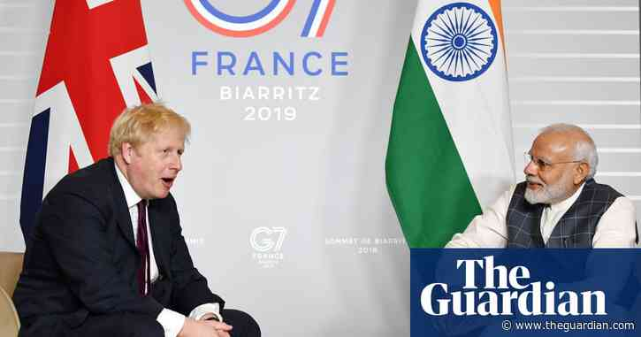 Johnson and Modi to agree UK-India trade partnership in virtual talks