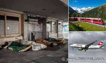 Swiss city offers homeless people one-way tickets to other countries provided they do not  return