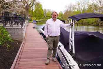 Met de boot op restaurant? Geen probleem dankzij nieuwe aanlegsteiger van 80 meter