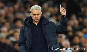 Jose Mourinho appointed Roma manager, starting with the 2021-22 season after Tottenham sacking