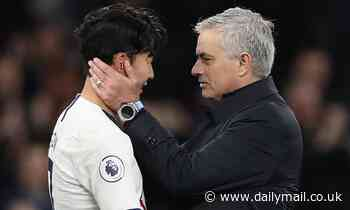 Tottenham star Son Heung-min says it is 'so sad' that he did not share success with Jose Mourinho