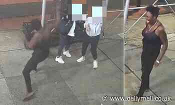 Video shows female thug hit Asian woman, 31, with hammer in Manhattan over mask