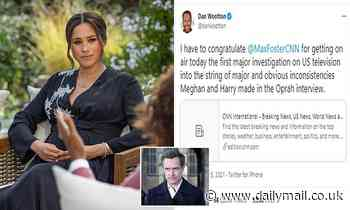 DAN WOOTTON: Has Meghan got to CNN? Network tries to conceal critical Sussexes report