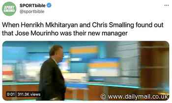 Jose Mourinho: Fans erupt on Twitter after Roma announcement with hilarious memes