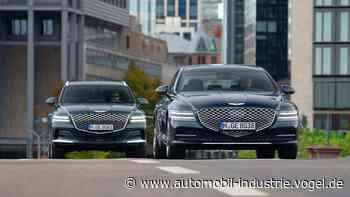 Genesis startet mit zwei Modellen in Europa