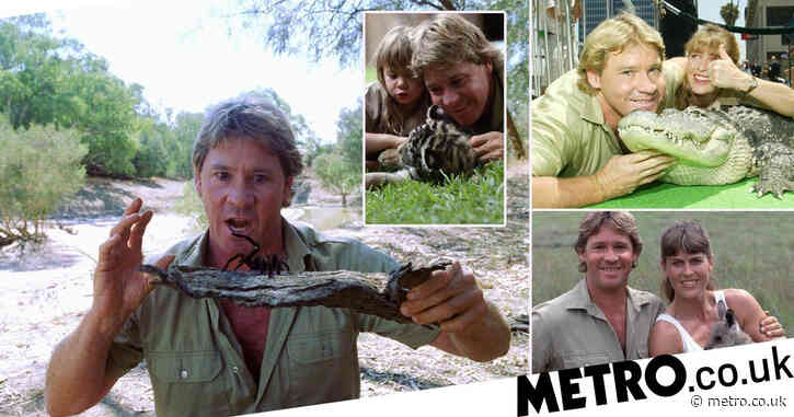 Steve Irwin biopic 'in the works with Chris Hemsworth and Russell Crowe being considered for lead role'