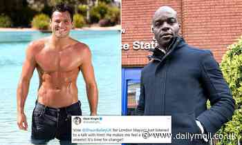 The only way is Shaun Bailey! Towie's Mark Wright backs Tory challenger to become London mayor