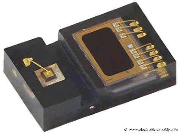 Tiny optical proximity detector works up to 200mm and down to 7μA