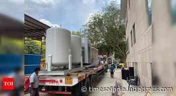 Delhi: DRDO begins installing oxygen plants at AIIMS, RML hospital