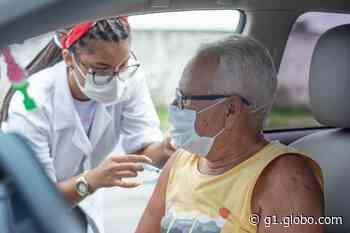 Cabo de Santo Agostinho começa a vacinar pessoas com idades a partir de 60 anos contra a Covid-19 - G1